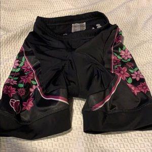Pearl Izumi women's cycling padded shorts